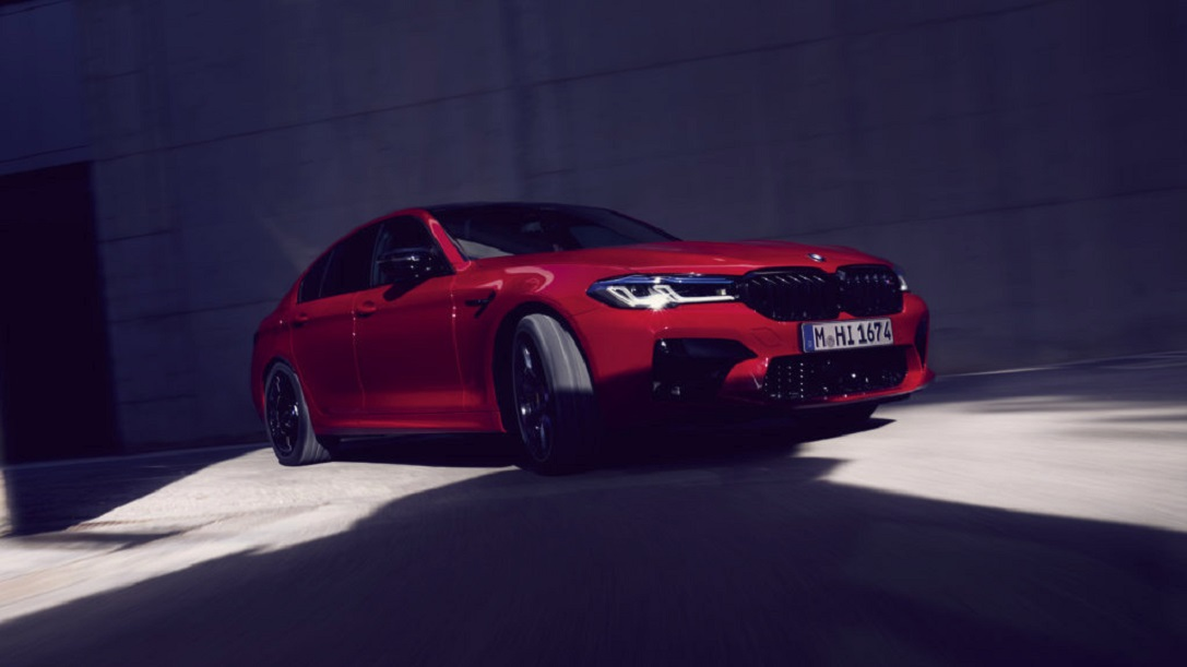 THE BMW M5 COMPETITION.